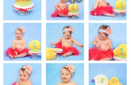 Baby Photography Newcastle under Lyme and Stoke on Trent | Cake Smash | Baby Darcie